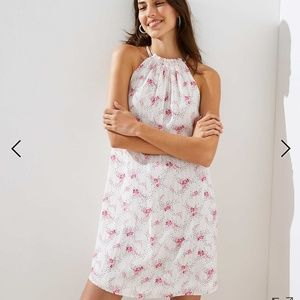 The Loft Floral Swing Dress
